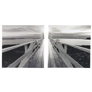 Ashley Set of 2 Waterscape Gallery Canvas