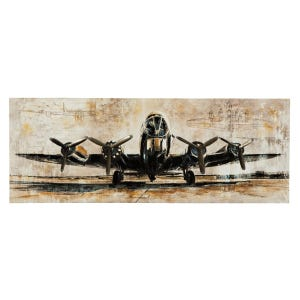 Aviation Runway Canvas Art