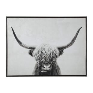 Cattle Range Framed Art