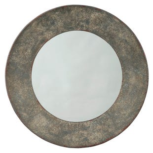 Farmhouse Round Mirror
