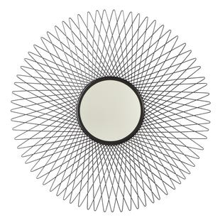 Abstract Circle Wall Mirror