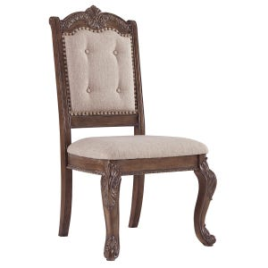 Ashley Charmed Set of 2 Upholstered Side Chairs