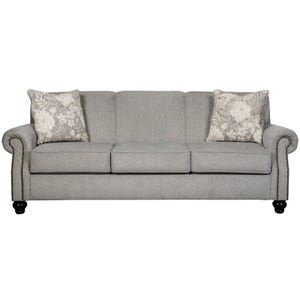 Ashley Avelynne Gray Twill Sofa