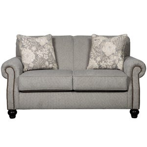 Ashley Avelynne Gray Twill Loveseat