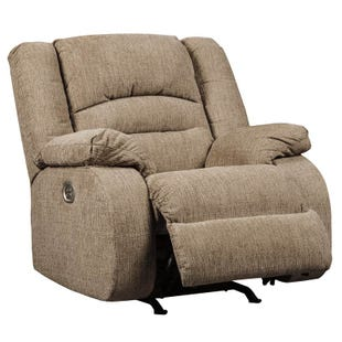 Ashley Labarre Wheat Power Recliner and Headrest