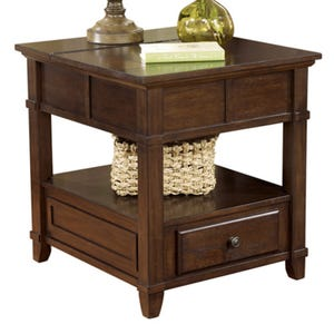 Ashley Gately Burnished Brown End Table