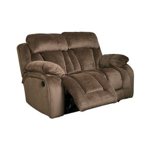 Ashley Stricklin Brown Power Reclining Loveseat