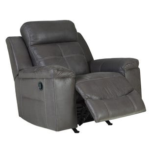 Ashley Jesolo Dark Gray Rocker Recliner