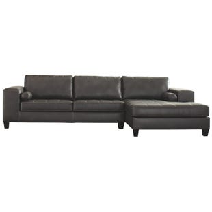 Ashley Nokomis Gray Oversized Sectional