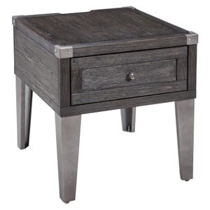 Ashley Todoe Dark Gray End Table