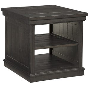 Ashley Sharlowe Dark Charcoal End Table