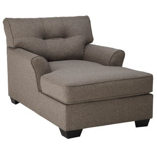 Ashley Tibbee Slate Gray Chaise