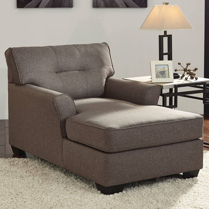 Stupendous Ashley Tibbee Slate Gray Chaise Home Interior And Landscaping Ologienasavecom