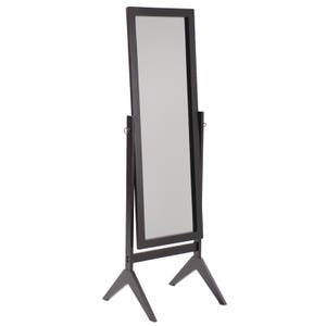 Liam Espresso Brown Cheval Mirror