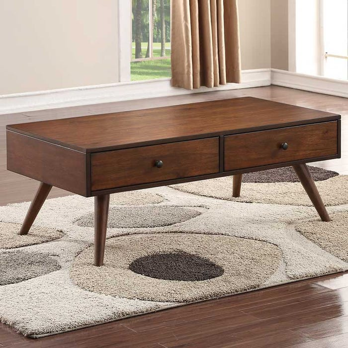 Holloway Mid Century Modern Coffee Table Weekends Only Furniture