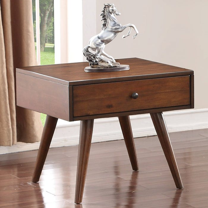 Holloway Mid Century Modern End Table Weekends Only Furniture
