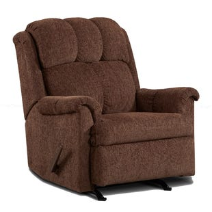 Chenille Tahoe Rocker Recliner Chocolate