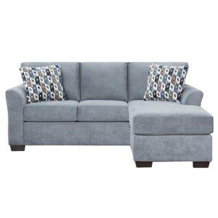 Reversible Sofa Chaise Anna Blue