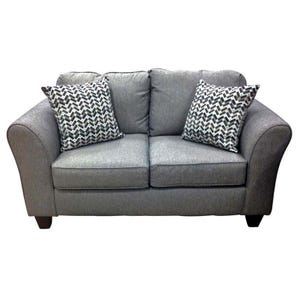 Structure Granite Gray Loveseat