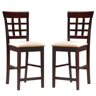 Mission Set of 2 Counter Stools