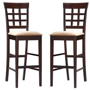 Mission Set of 2 Bar Stools
