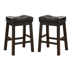 Hennessy Set of 2 Saddle Stools