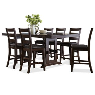 Holbrook 7 Piece Counter Height Table Set