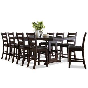 Holbrook 9 Piece Counter Height Table Set