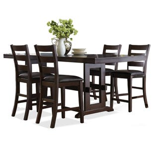 Holbrook 5 Piece Counter Height Table Set