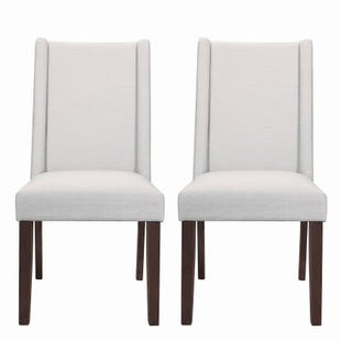 Coaster Studio 1 Set of 2 Beige Fabric Chairs