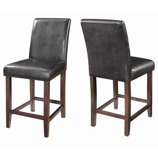 Coaster Devon Brown Set of 2 Bar Stools
