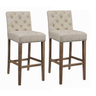 Coaster Lakewood Beige Set of 2 Bar Stools