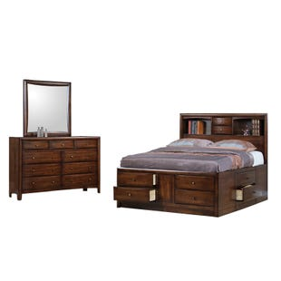 Harrison Queen Bookcase Bedroom Set