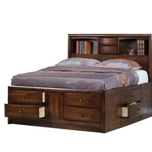 Harrison King Bookcase Bed