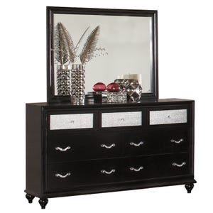 Barzini 2 Piece Dresser and Mirror