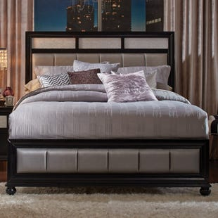 Barzini King Panel Bed