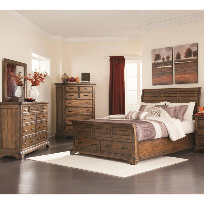 Elk Grove Queen Storage Bedroom Set | Weekends Only Furniture