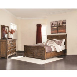 Elk Grove King Storage 3 Piece Bedroom Set