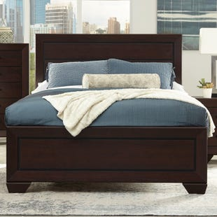 Fenbrook Dark Cocoa King Bed