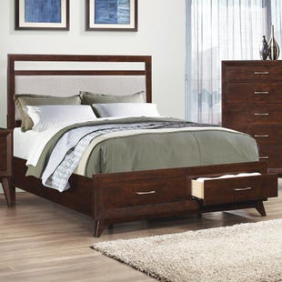 Carrington King Storage Bed