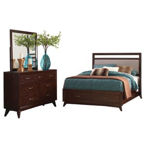 Carrington King Storage Bedroom Set