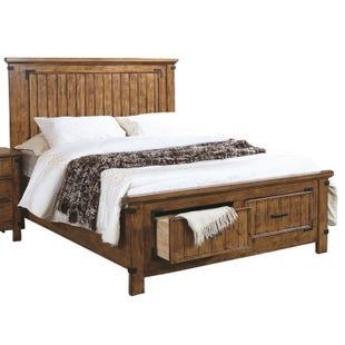 Brenner Full Footboard Storage Bed