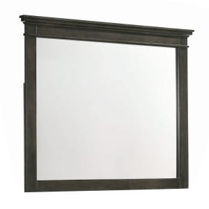 Newberry Greyish-Brown Mirror