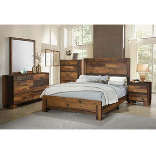 Rustic Charm Queen Bedroom Set