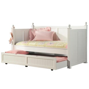 Mystic Bay White Panel Daybed