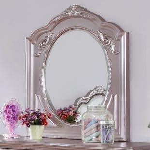 Metallic Lilac Mirror