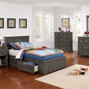 Napoleon Twin Storage Bed