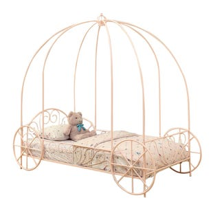 Coaster Massi Pink Twin Canopy Bed