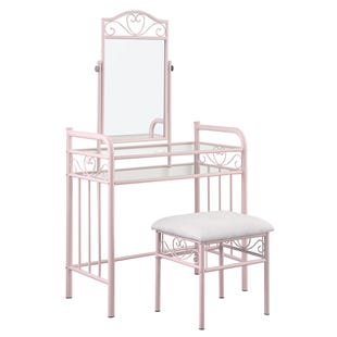 Coaster Massi Pink 2 Piece Vanity Set