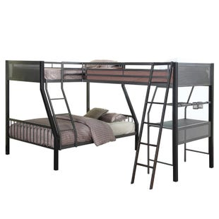 Sleepover Twin/Full Loft Bunk Bed